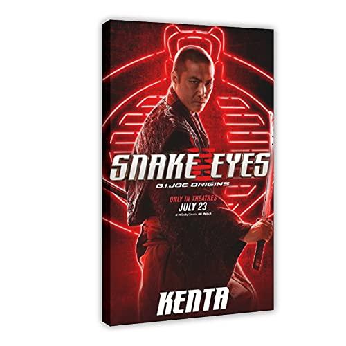 Action Movie Snake Eyes G.I. Joe Origins 8 poster su tela, decorazione da parete per soggiorno, camera da letto, 60 x 90 cm