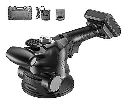 JHWSX Máquina para Colocación de Baldosas, Martillo Vibrador para Baldosas y Baldosas Niveladoras, Máquina para Colocación de Baldosas - Máquina Vibratoria - Adsorción Máxima 200kg (Battery : 1pcs)