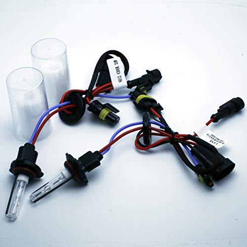 Ampoules 2X pour After Market HID KIT DE CONVERSION XENON 3000K jaune 35 W Wire