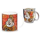 Tazza GONGOLO Sette Nani Disney in Ceramica Mug in Confezione Regalo - D00984MC