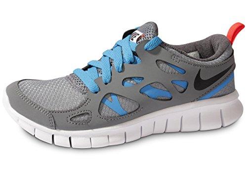 Nike Free Run 2 (GS) Addestratori Correnti delle Scarpe da Tennis 443742 (UK 4 US 4.5y EU 36,5, Cool
