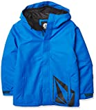 Volcom 17Fourty Insulated Snow Jacket Chaqueta aislada, Cyan Azul, XS para Niños