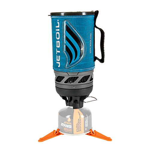 Jetboil Flash Camping and Backpacking Stove Cooking System, Matrix Blue