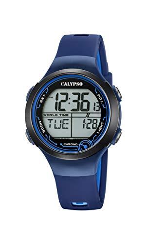 Calypso Reloj Digital para Unisexo de Cuarzo con Correa en plástico K5799/5