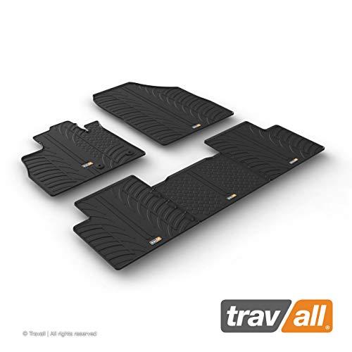 Travall Mats Gummifußmatten Kompatibel Mit Renault Scenic (Ab 2016) TRM1277 - Allwettermatten Nach Maß Fussmatten Set