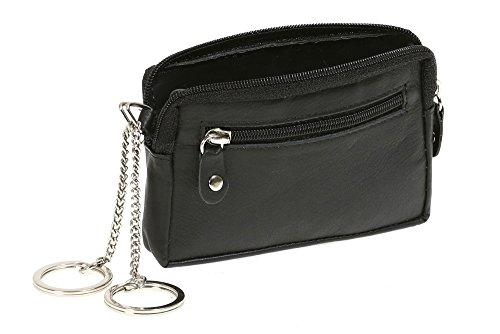 LEAS Schlüsseltasche Echt-Leder, schwarz Special Edition