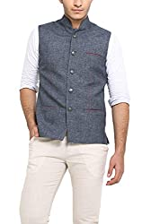 Shaftesbury London Mens Cotton Waistcoat