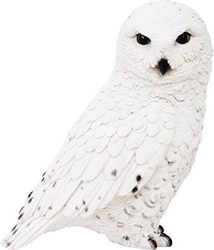 マグネット 貯金箱 ホワイト 約16×18×9cm ペットバンク スノーウィ オウル 1278