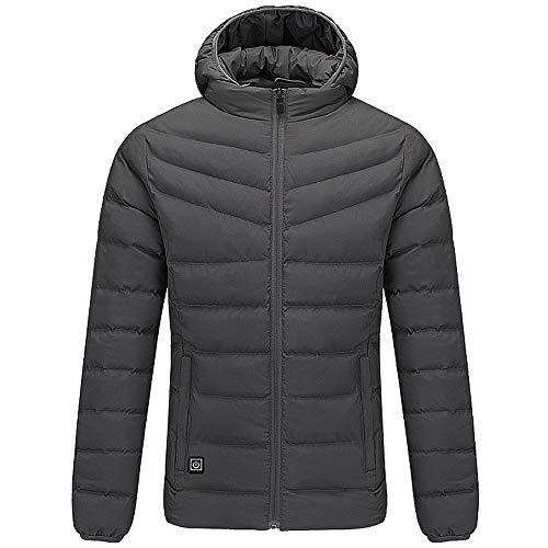TSSM verwarmde jas, mannen elektrische verwarming kleding radiator warme winter voor outdoor camping paardrijden fiets motorfiets vissen skilopen