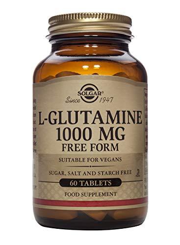 Solgar L-Glutamina 1000 Mg, Envase de 60 Comprimidos