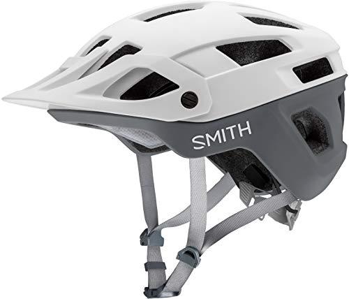 SMITH Unisex– Erwachsene Engage MIPS Fahrradhelm, Matte White Cement, M