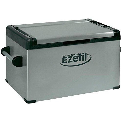 Ezetil EZC60 Thermoelektrische Kühlbox 12/24/100-240V, Silber