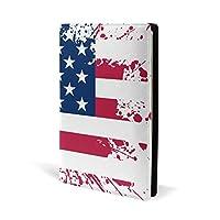 ブックカバー a5 国旗 アメリカ 文庫 PUレザー ファイル オフィス用品 読書 文庫判 資料 日記 収納入れ 高級感 耐久性 雑貨 プレゼント 機能性 耐久性 軽量