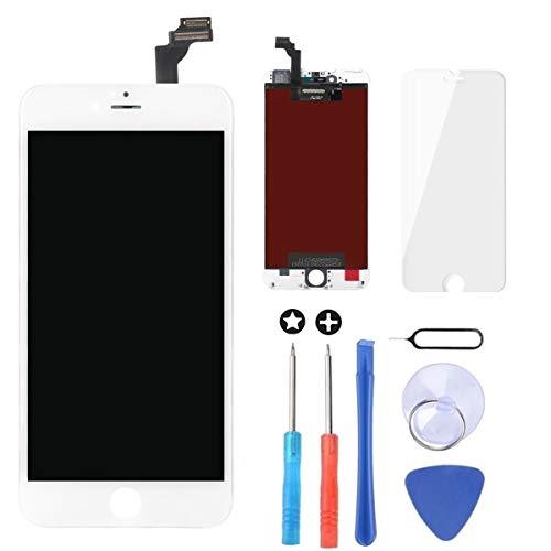Brinonac Für iPhone 6 Plus Display LCD Touchscreen Digitizer Ersatz Bildschirm Front Komplettes Glas mit Werkzeug und Display Schutzfolie (5,5