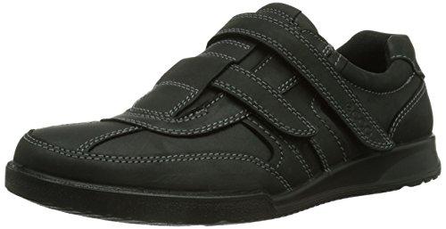 Ecco ECCO TRANSPORTER, Herren Sneaker, Schwarz (BLACK/MOONLESS), 48 EU (13 Herren UK)