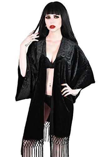 Killstar Kimono-Jacke Destiny Velvet (XS/S)