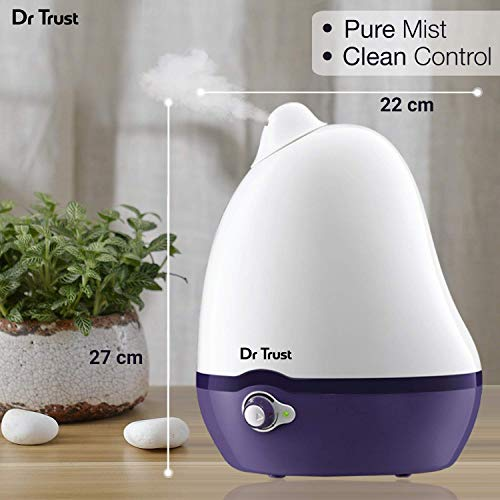 Dr. Trust Home Spa Luxury Cool Mist Dolphin Humidifier for Adults and Baby Bedroom - 2 L