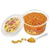 Popping bobas de Mango para Bubble tea, paquete de 450gr...