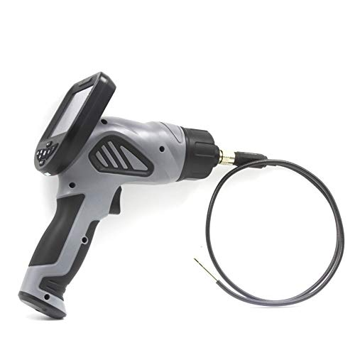 Borescope Handheld OD5.5mm Probe Car Engine Drain Pipe Riool NDO Inspectie Videoscope Borescope endoscoop Overtemperatuurbeveiliging endoscoop QPLNTCQ (Color : Black, Size : 5mm)