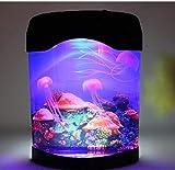 Luz de Noche LED, luz de Medusas, luz de Noche de decoración de simulación Creativa artificialmente Colorida, Adecuada para Sala de exposiciones, habitación de Hotel, Bar, Dormitorio, Cama