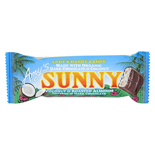 Amys Organic Sunny Candy Bar, 1.3 Ounce -- 12 per case.