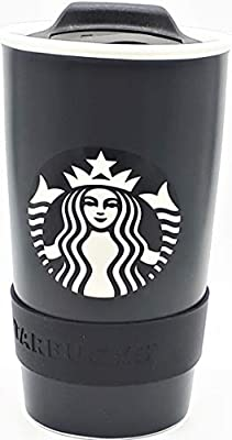 Starbucks Limited Collection NYC Black Ceramic Travel Mug