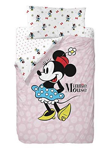 Disney Minnie Blue Skirt Saco Nórdico 2 Piezas Cama