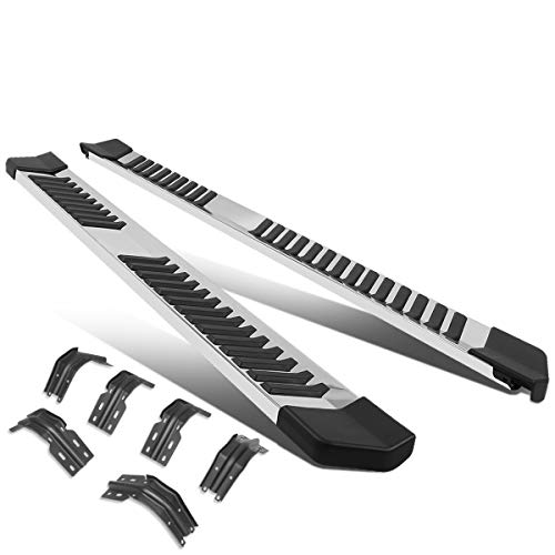 6 Inches Chrome Glossy Side Step Nerf Bar Running Board Compatible with Ford...