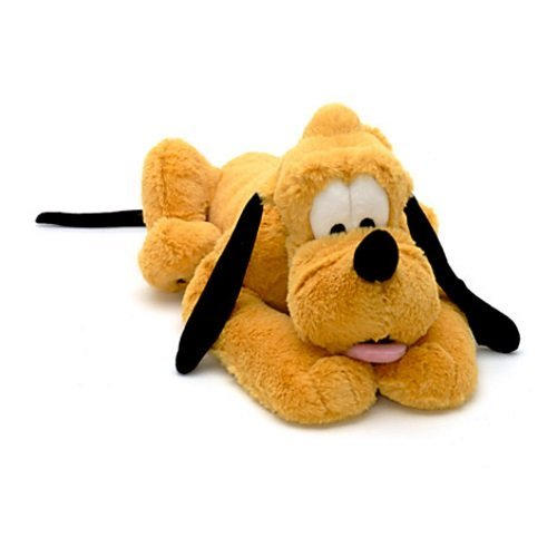 Disney Pluto 39cm Fluffy Fur Soft Toy Plush