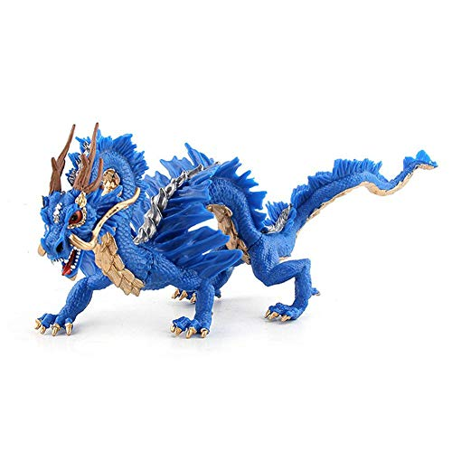 gaeruite chinesischer Drache Spielzeug, Simulation chinesischer Drache realistische pädagogisches Spielzeug für Kinder Geburtstagsgeschenk