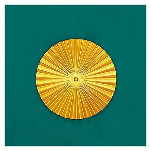 Ornement Forma De Pared Decoración Adorno Hierro Hogar Colgante Sala De Estar Sala De Estudio Sala De Comedor Oficina De Entrada MUMUJIN (Color : 30.5CM)