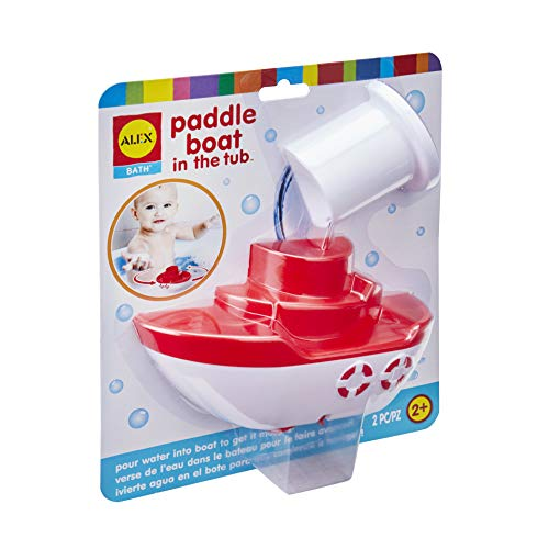 Alex Bath Paddle Boat in The Tub Kids Bath Toy