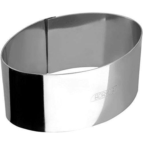 IBILI 727810 - +Aro De Emplatar Oval INOX 10,50X6X4,50