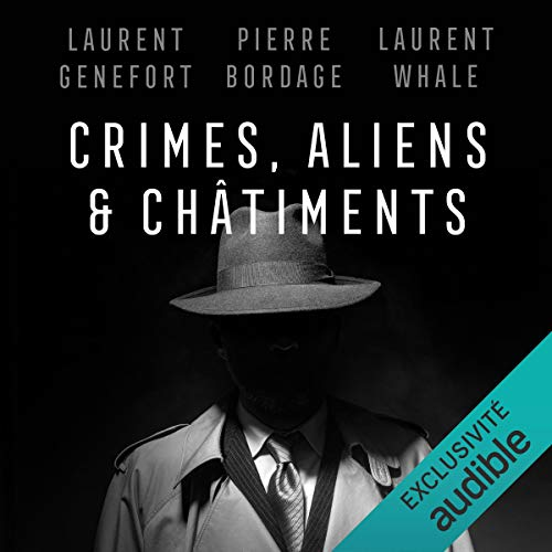 Page de couverture de Crimes, aliens et châtiments
