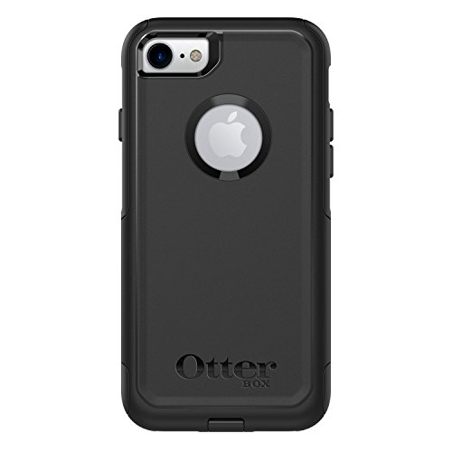 OtterBox COMMUTER SERIES Case for iPhone SE (2nd gen - 2020) and iPhone 8/7 (NOT PLUS) - Frustration Free Packaging - BLACK