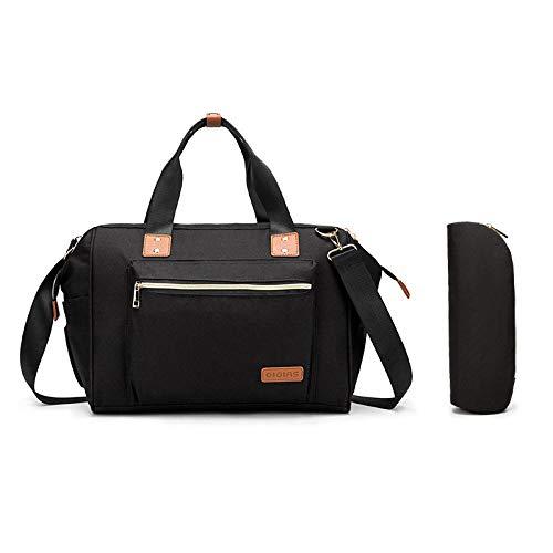 wpapers Mama Tasche multifunktionale große Kapazität Umhängetasche Mutter und Baby Tasche Reise Handtasche-schwarz_Eine Größe