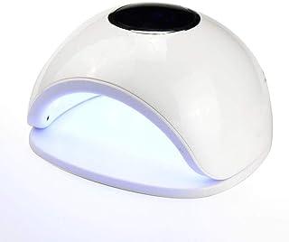 Lámpara de uñas LED Gel Profesional UV Esmalte de uñas lámpara eficiente secador de uñas profesional con Smart AutoSensing de curado ultrarrápido conveniencia Segura 72W 33lamp talones 4 archivos de s