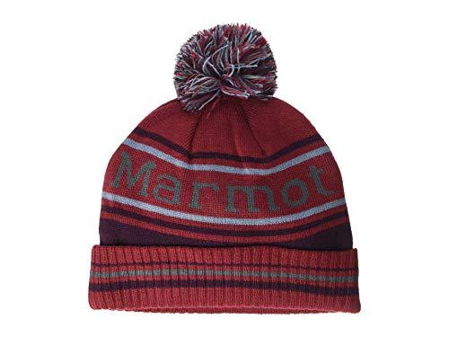 Marmot Retro Pom Hat Chapeau Mixte, Brick/Fig, One