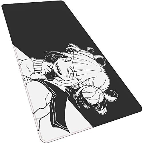 Anime maus pads Mörder Himiko Toga-B gaming mauspad computer mousepad 900X400X3mm XXL gaming mauspad gamer zu tastatur laptop maus matten,Verdickt wasserdicht