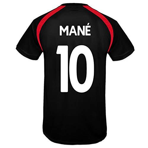 Liverpool FC - Jungen Trainingstrikot - Offizielles Merchandise - Schwarz - Mane 10-12-13 Jahre