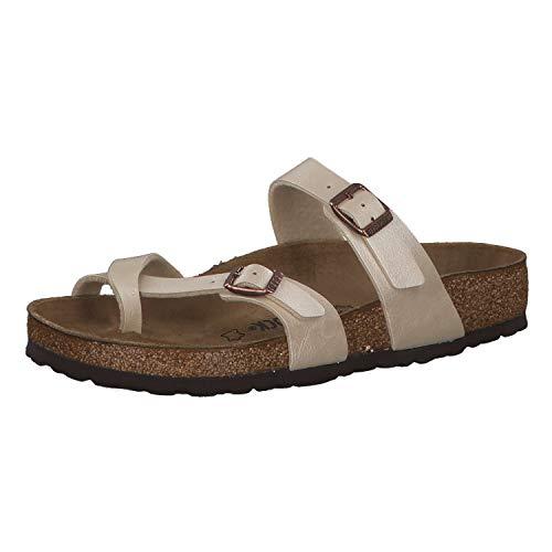Birkenstock MAYARI BF GRACEFUL 71661 - Sandalias de vestir para mujer, color blanco, talla 38