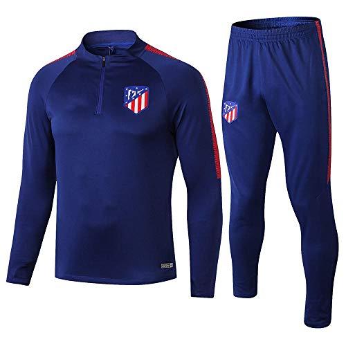 ZuanShiDaHeng Verein Langarm Fußball Uniform Anzug Team Wettbewerb Trainingsanzug Halber Reißverschluss Multi Farbe Größe S-XL @ 1_M