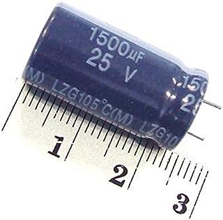2x ELKO Kondensator 1500UF 25V Radial LOW ESR / Impedance 105C   E Capacitor