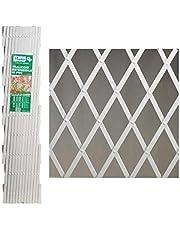 AFT hekwerk, PVC, 2 x 1 m, wit