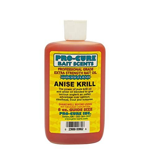 Pro-Cure Anís Aceite de Krill cebo, 8onzas