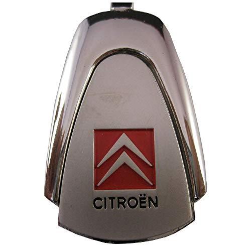 Ludostreet ref0008 Llavero de Metal Compatible con Marcas de Coche (Compatible con Citroen)
