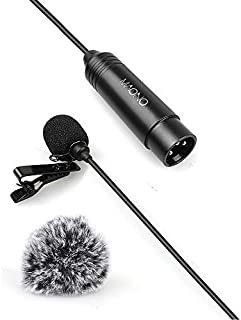 XLR Lavalier Microphone 6.56ft Phantom Power MAONO XLR 10...