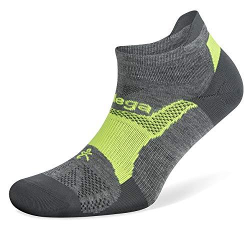 Balega Hidden Dry Moisture-Wicking Socks for Men and Women (1 Pair),Midgrey/Fog, X-Large
