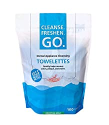 Dental Appliance Cleansing Towelettes