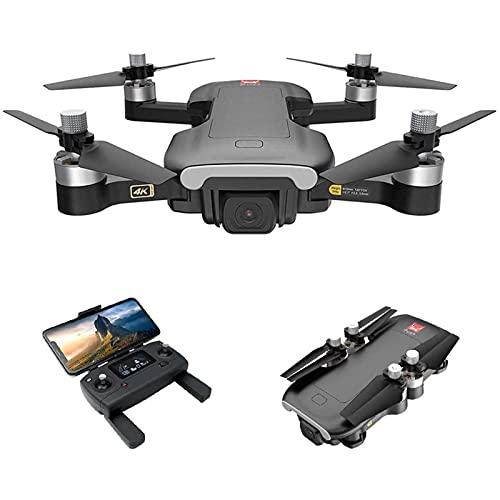 HAOJON Drone GPS con Fotocamera per Adulti, Drone RC con Fotocamera 4K HD, quadricottero RC WiFi FPV 5G con Motore brushless, Posizionamento del Flusso Ottico, Volo in Pista, seguimi, 1 Batteria